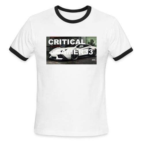 CRITIMERCH EXCLUSIVE - Men's Ringer T-Shirt