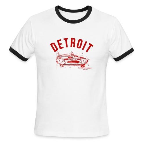 Detroit Art Project - Men's Ringer T-Shirt