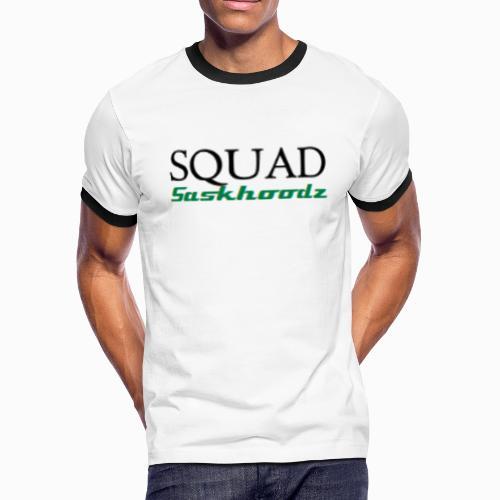 Squad Saskhoodz - Men's Ringer T-Shirt