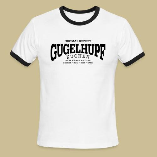 Gugelhupf (black) - Men's Ringer T-Shirt