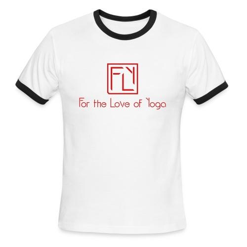 For the Love of Yoga - Men's Ringer T-Shirt