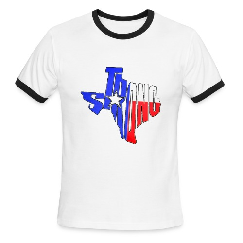 tx strong 2 - Men's Ringer T-Shirt