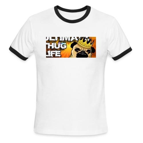 pug life - Men's Ringer T-Shirt