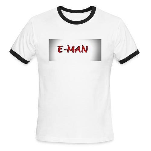 E-MAN - Men's Ringer T-Shirt
