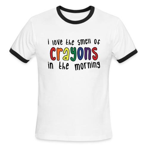 Crayons light - Men's Ringer T-Shirt