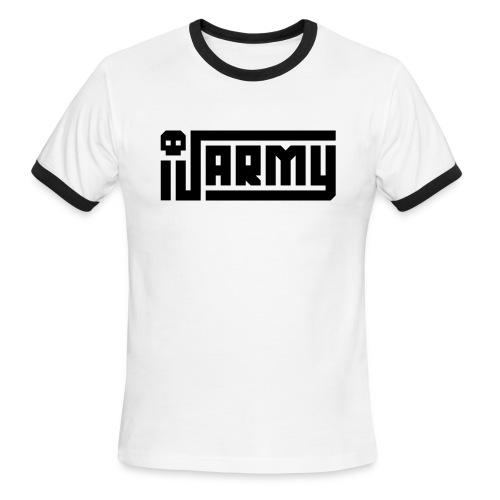 iJustine - iJ Army Logo - Men's Ringer T-Shirt