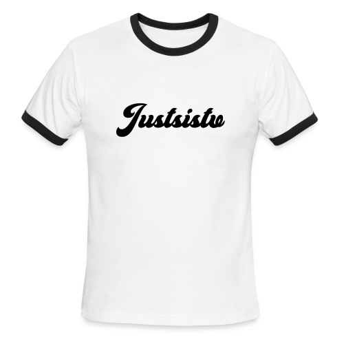 Justsistv - Men's Ringer T-Shirt
