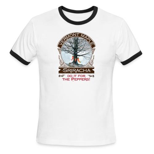 Vermont Maple Sriracha - Men's Ringer T-Shirt
