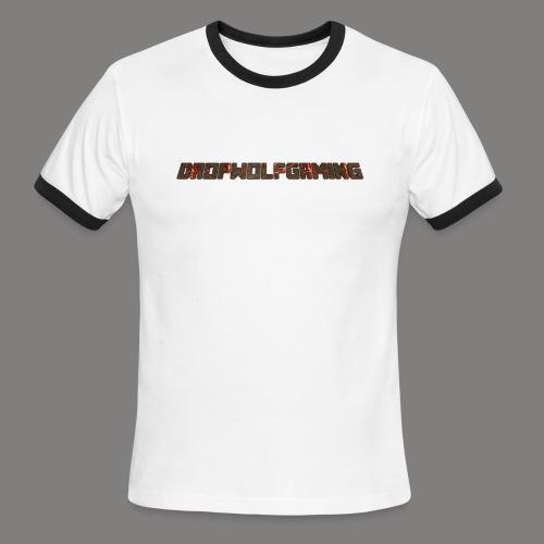 DropWolfGaming - Men's Ringer T-Shirt