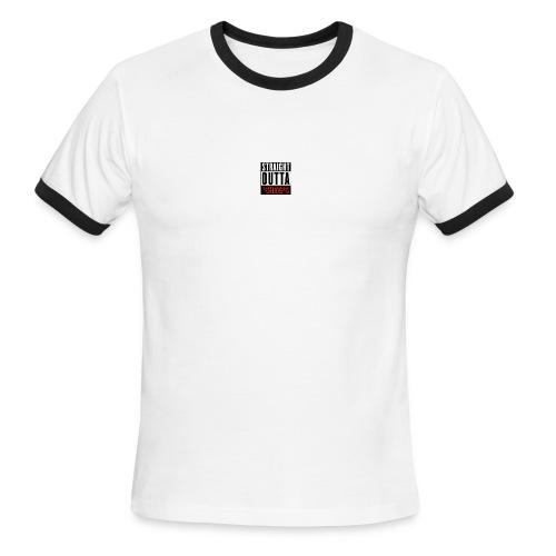 straight outta sheeps - Men's Ringer T-Shirt