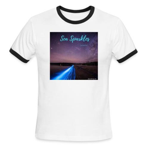 Tasmanian Sea Sparkles - Men's Ringer T-Shirt
