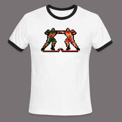 The Enforcers Blades of Steel - Men's Ringer T-Shirt