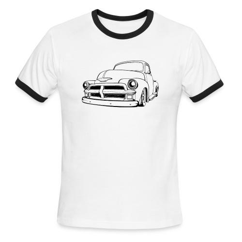 1954 Custom Truck - Men's Ringer T-Shirt