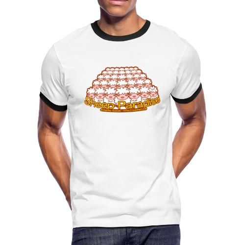 Sheep Paradise - Men's Ringer T-Shirt