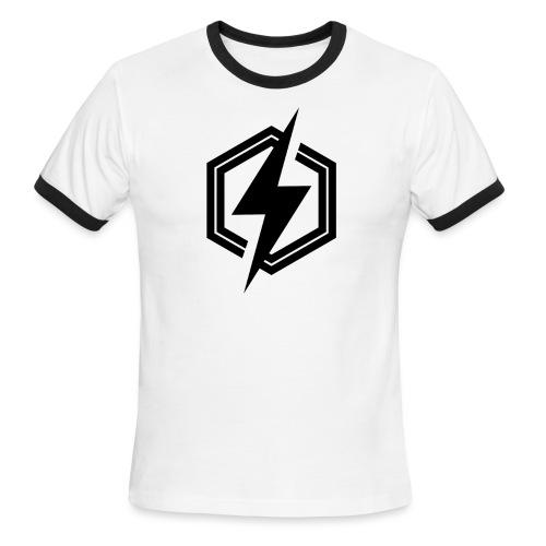 logonoir - Men's Ringer T-Shirt