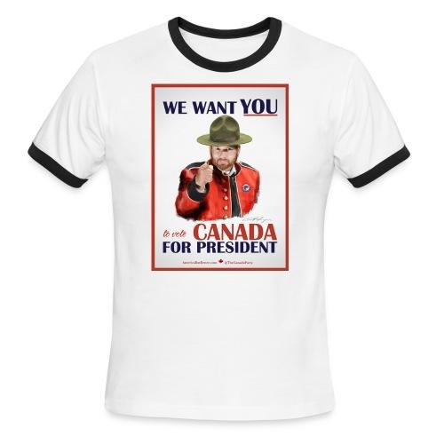 wewantyou - Men's Ringer T-Shirt