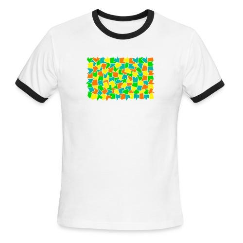 Dynamic movement - Men's Ringer T-Shirt