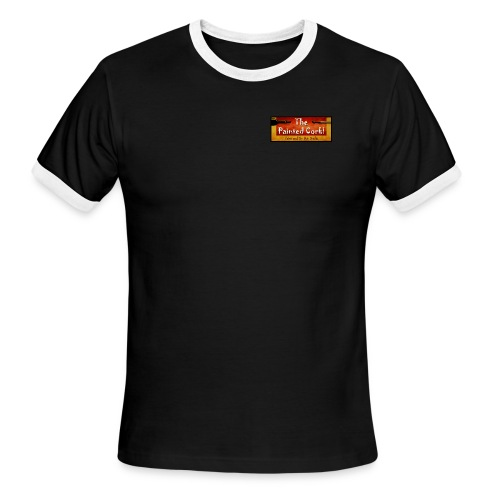 new Banner 6 ft jpg - Men's Ringer T-Shirt