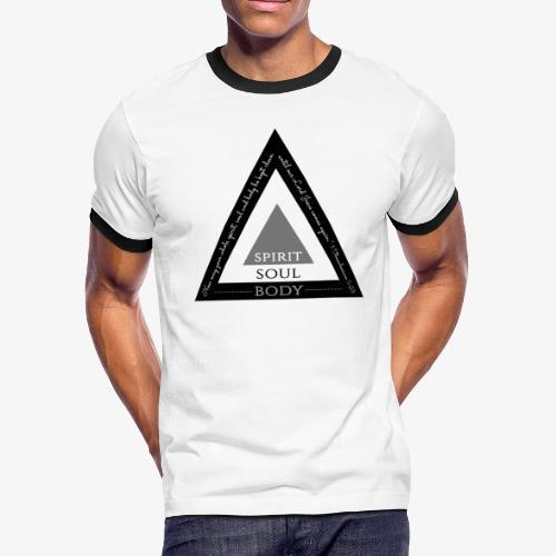 Spirit Soul Body - Men's Ringer T-Shirt