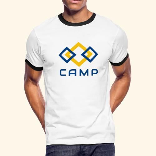 CAMP LOGO and products - Men's Ringer T-Shirt