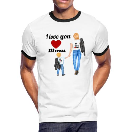 Mother's day gift from daughter, Mother's Day Gift - Men's Ringer T-Shirt