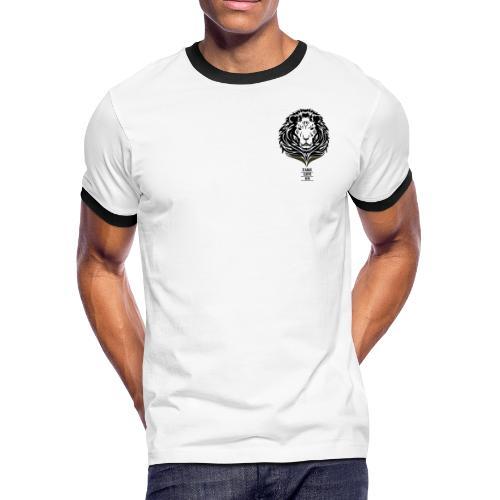 Lion Take life on - Men's Ringer T-Shirt