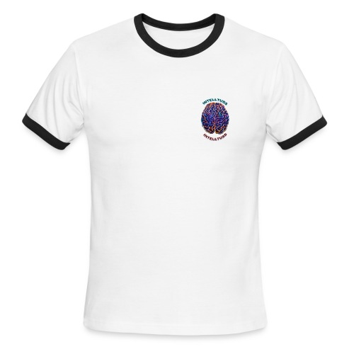 IntellTuss Shirt (pocket design) - Men's Ringer T-Shirt
