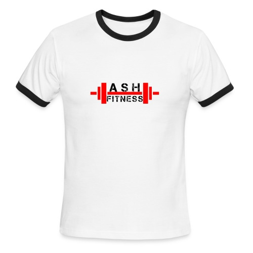 ASH FITNESS MUSCLE ACCESSORIES - Men's Ringer T-Shirt
