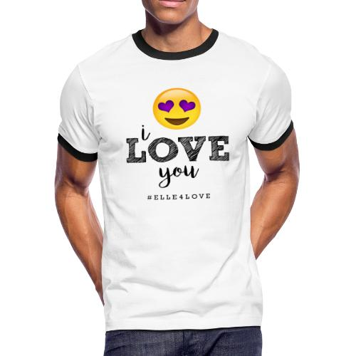 I LOVE you - Men's Ringer T-Shirt