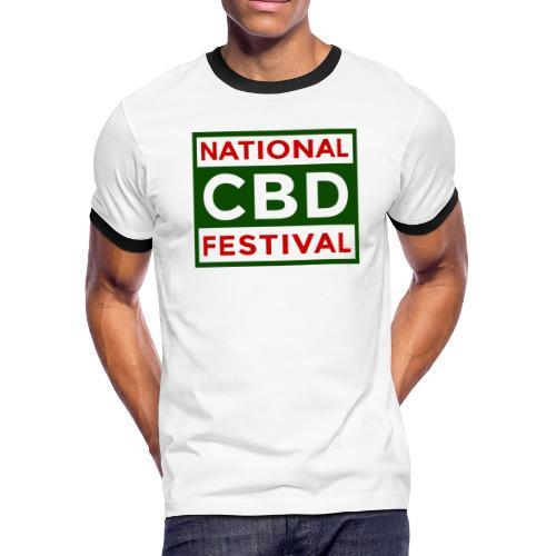 NCBDF Logo - Men's Ringer T-Shirt