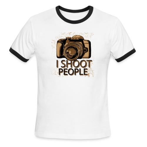 Photographer - Men's Ringer T-Shirt