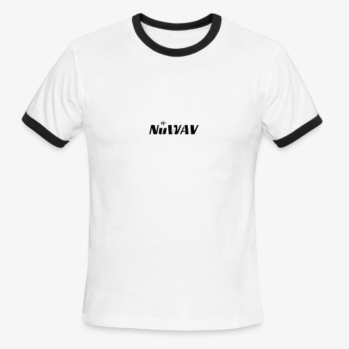 NuWAV Logo - Men's Ringer T-Shirt
