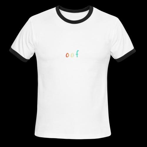 """""""oof"""" rainbow - Men's Ringer T-Shirt"""