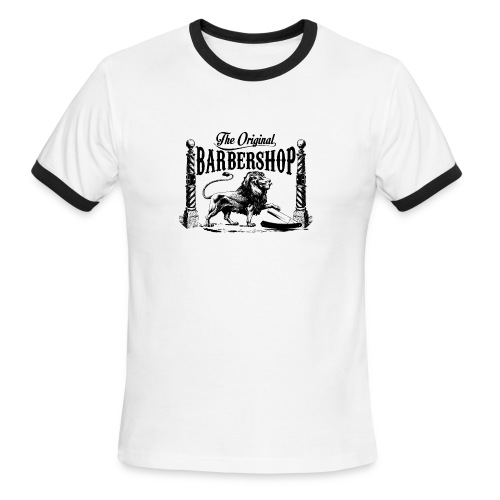 The Original Barbershop - Men's Ringer T-Shirt