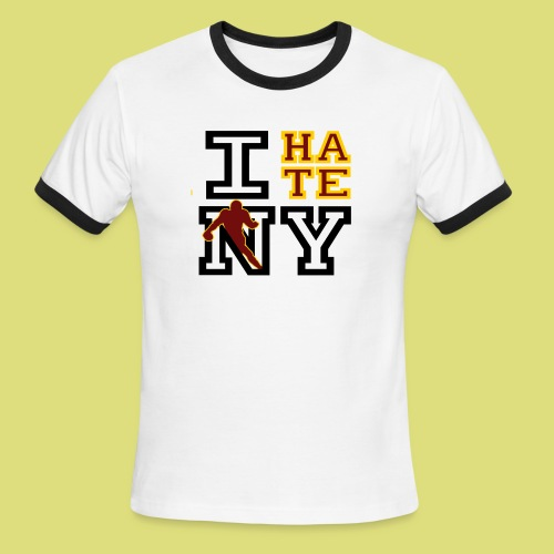 IhateNY - Men's Ringer T-Shirt