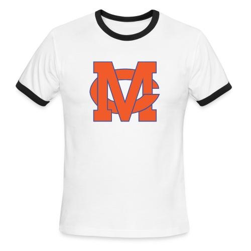 interlocking MC vector - Men's Ringer T-Shirt