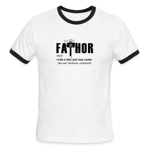 Fa Thor Like Dad Just Way - Men's Ringer T-Shirt