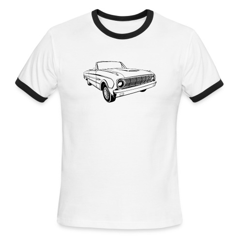 63 Ford Falcon Sprint Conv Men's T-Shirt - Men's Ringer T-Shirt