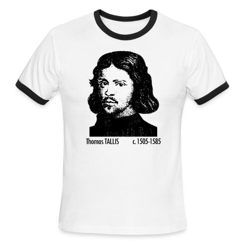 Thomas Tallis Portrait - Men's Ringer T-Shirt