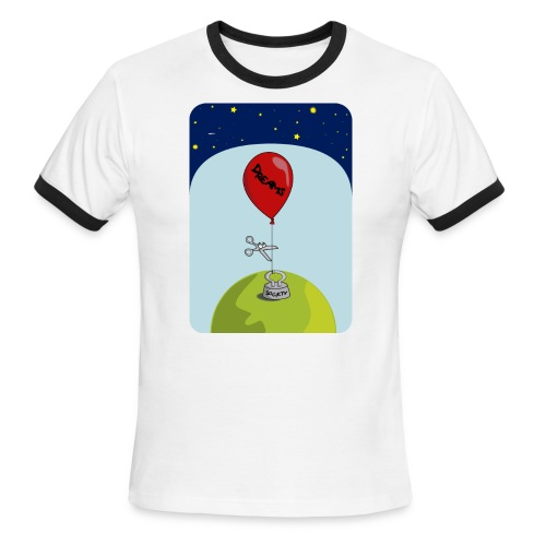 dreams balloon and society 2018 - Men's Ringer T-Shirt