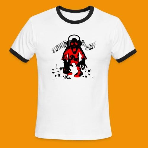 Music Zombie - Men's Ringer T-Shirt