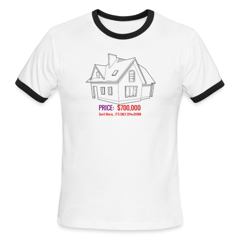 Fannie & Freddie Joke - Men's Ringer T-Shirt