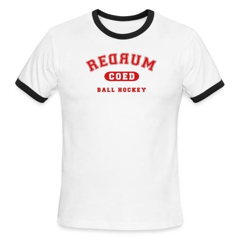 redrum varsity - Men's Ringer T-Shirt