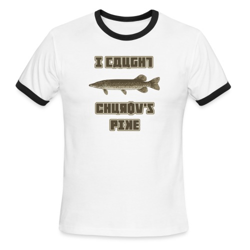I Caught Churov's Pike - Men's Ringer T-Shirt