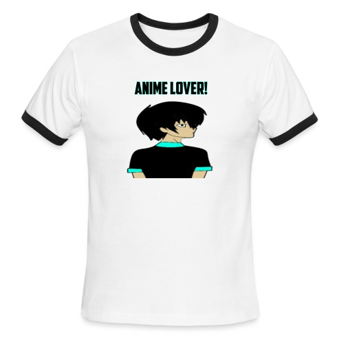 anime lover - Men's Ringer T-Shirt