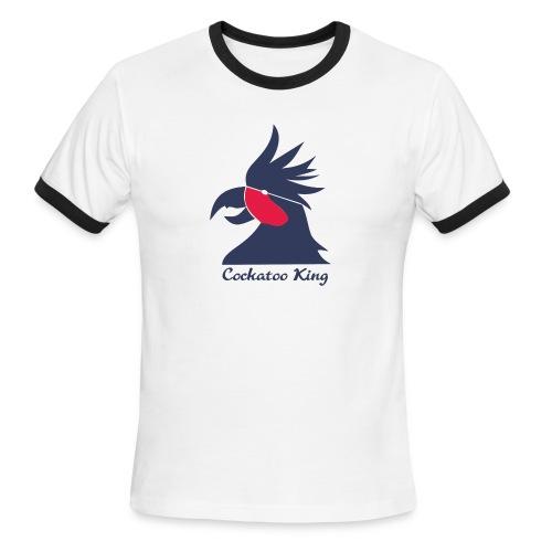Cockatoo Logo - Men's Ringer T-Shirt