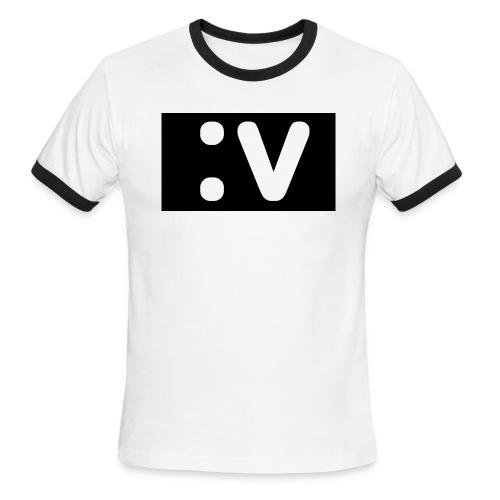 LBV side face Merch - Men's Ringer T-Shirt