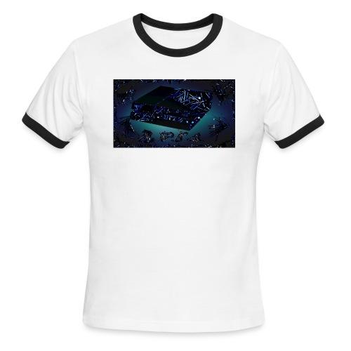 ps4 back grownd - Men's Ringer T-Shirt
