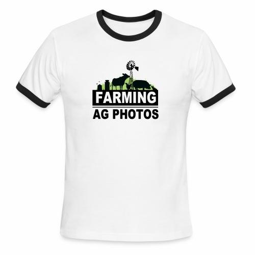 Farming Ag Photos - Men's Ringer T-Shirt
