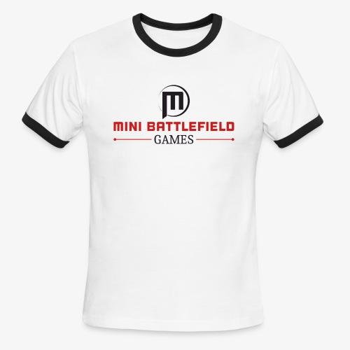 Mini Battlefield Games Logo - Men's Ringer T-Shirt